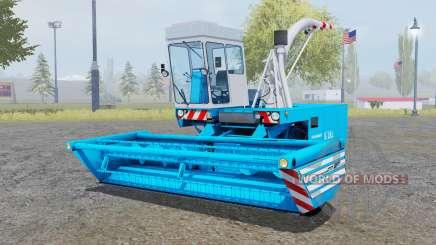 Fortschritt E-281 pure cyan para Farming Simulator 2013
