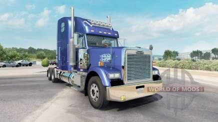 Freightliner Classic XL moderate blue para American Truck Simulator