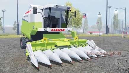 Claas Mega 370 TerraTrac moderate green para Farming Simulator 2013