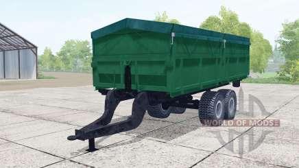 2ПТС-9 de color verde oscuro para Farming Simulator 2017