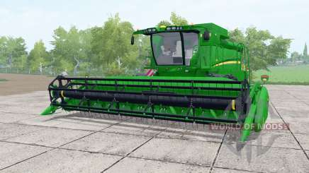 John Deere S650 dual front wheels para Farming Simulator 2017