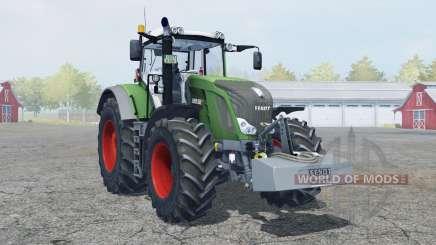 Fendt 828 Vario with weight para Farming Simulator 2013