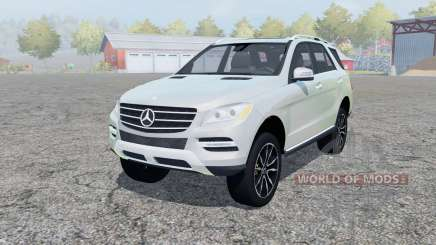 Mercedes-Benz ML 350 (W166) 2011 para Farming Simulator 2013