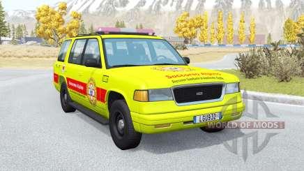 Gavril Roamer Soccorso Alpino v1.2 para BeamNG Drive