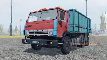 KamAZ 53212 moderadamente rojo para Farming Simulator 2013