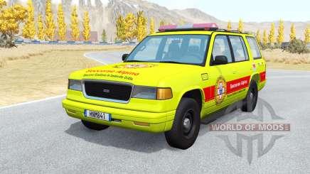 Gavril Roamer Soccorso Alpino v1.1 para BeamNG Drive