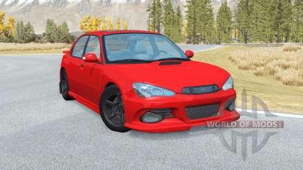 Hirochi Sunburst Sport RS v2.9 para BeamNG Drive