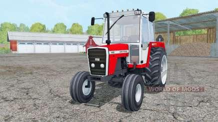 Massey Ferguson 698 red and white para Farming Simulator 2015