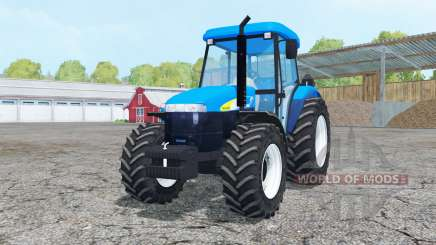 New Holland TD 5050 cyan para Farming Simulator 2015