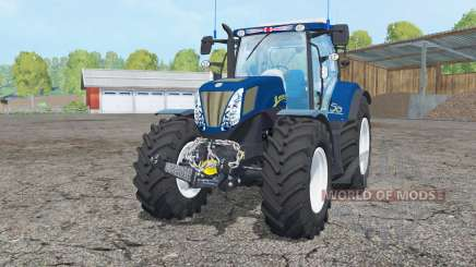 New Holland T7.270 dark blue para Farming Simulator 2015