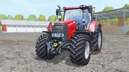Case IH Puma 165 CVX front loader para Farming Simulator 2015