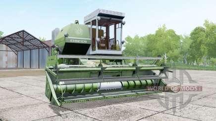 Yenisei 1200-1M en el color de los espárragos para Farming Simulator 2017