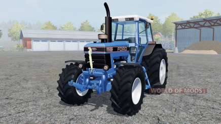 Ford 8630 Power Shift dark blue para Farming Simulator 2013