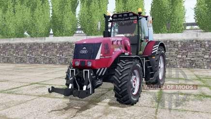 Belarús 3022ДЦ.1 caliente de color rosa para Farming Simulator 2017