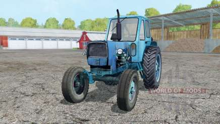 YUMZ-6L brillante color azul celeste para Farming Simulator 2015