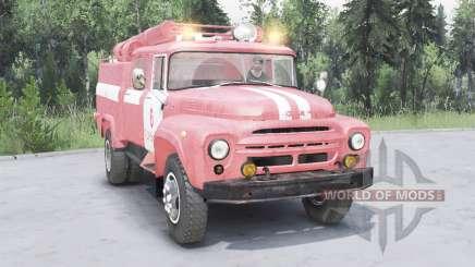 ZIL-130 AC-40 suave de color rojo para Spin Tires