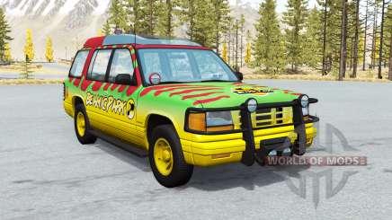 Gavril Roamer Tour Car Beamic Park v2.0.1 para BeamNG Drive