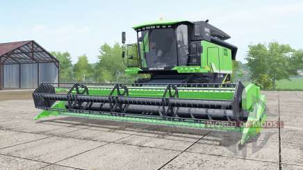 Deutz-Fahr 6095 HTS lime green para Farming Simulator 2017