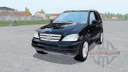 Mercedes-Benz ML 430 (W163) 1999 para Farming Simulator 2017