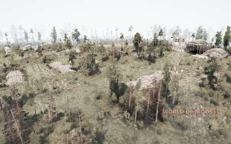 Siberiano naturaleza para Spintires MudRunner