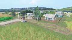 Verano campos v2.1 para Farming Simulator 2015