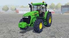 John Deere 7820 add wheels para Farming Simulator 2013