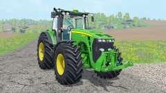 John Deere 8530 ᶒxtra pesos para Farming Simulator 2015