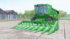 John Deere 9610 wheels selection para Farming Simulator 2017