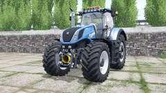 New Holland T7.290 rich electric blue para Farming Simulator 2017