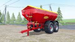 Bredal K165 increases spread para Farming Simulator 2017