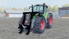 Fendt Favorit 816 Turboshift front loader para Farming Simulator 2013