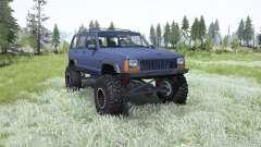Jeep Cherokee (XJ) 1996 para MudRunner