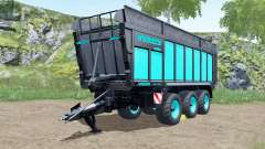 Joskin Drakkar 8600 blue and black para Farming Simulator 2017