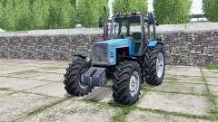 MTZ-1221 Belarús color azul brillante para Farming Simulator 2017