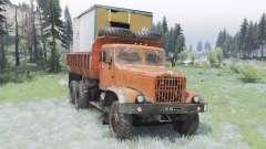 KrAZ-256Б para Spin Tires