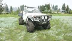 Toyota Land Cruiser cab chassis J79 1999 para MudRunner