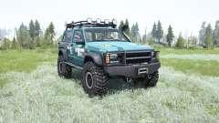 Jeep Cherokee SE 3-door (XJ) 1997 Trophy para MudRunner
