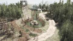 The Caves Trail Park para MudRunner