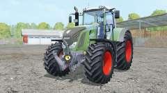 Fendt 828 Vario double wheels para Farming Simulator 2015