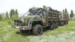 Ural-4320-10 6x6 para MudRunner