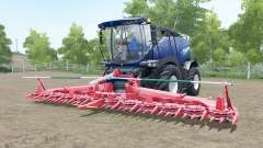New Holland FR850 Azul Poweᶉ para Farming Simulator 2017