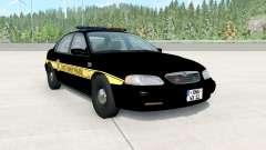 Ibishu Pessima 1996 East Coast Police para BeamNG Drive