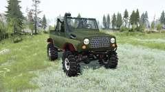 UAZ-469 TR-2 para MudRunner