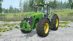 John Deere 8530 movable parts para Farming Simulator 2015