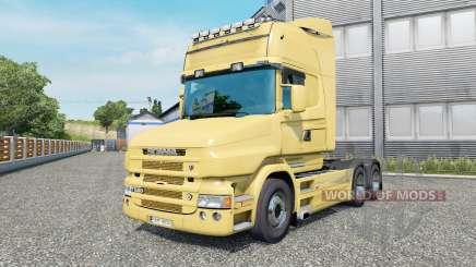 Scania T580 6x4 Topline v2.2.4 para Euro Truck Simulator 2