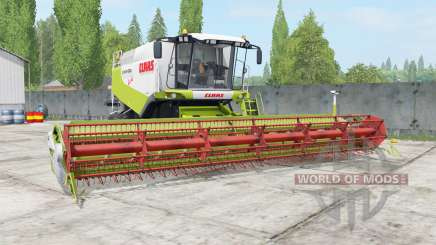 Claas Lexion 580 TerraTrac android green para Farming Simulator 2017