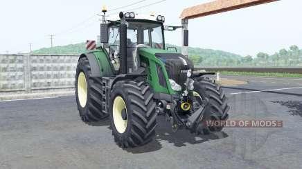 Fendt 828 Vario rim color selection para Farming Simulator 2017