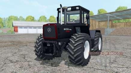 Mercedes-Benz Trac 1800 Intercooler Black Beauty para Farming Simulator 2015