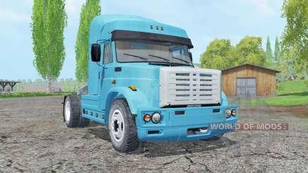 ZIL-5417 color azul para Farming Simulator 2015