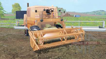 Bizon Z056 tan hide para Farming Simulator 2015